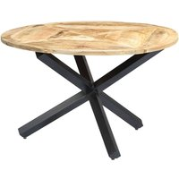 Hans Dining Table by Williston Forge - Brown