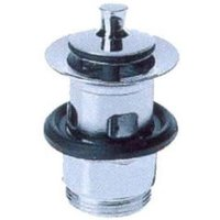 50101000 Sink drain Chromium to screw - Hansgrohe