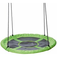 Kids Swing Seat 90 cm Green and Black - Happy People