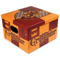 Gryffindor Storage Box (One Size) (Brick Red/Light Orange) - Harry Potter