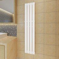 Hommoo - Heating Panel Towel Rack 311mm Heating Panel White 1500mm