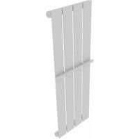 Heating Panel Towel Rack 311mm + Heating Panel White 311mm x 900mm - VIDAXL
