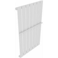 Heating Panel Towel Rack 542mm + Heating Panel White 542 mm x 900 mm - VIDAXL