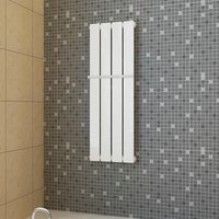 Heating Panel Towel Rack 311mm + Heating Panel White 311mm x 900mm VDTD14745 - TOPDEAL