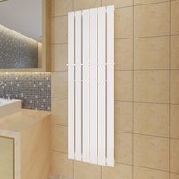 Hommoo - Heating Panel Towel Rack 465mm Heating Panel White 1500mm