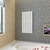 Heating Panel Towel Rack 465mm + Heating Panel White 465 mm x 900 mm VD14748 - HOMMOO