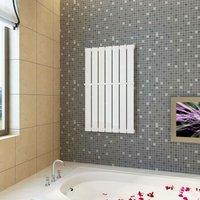 Heating Panel Towel Rack 542mm + Heating Panel White 542 mm x 900 mm - HOMMOO