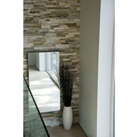Vetro Frame Electrical 1000X500mm Glass Towel Warmer 700W Mirror - Heating Style