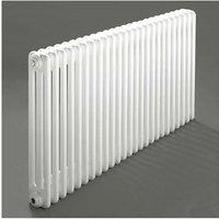 Windsor 3 Column Horizontal Radiator 300mm H x 1176mm W - 25 Section - Heatwave