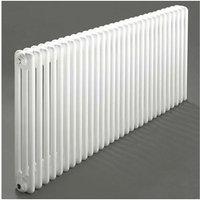 Heatwave Windsor 3 Column Horizontal Radiator 300mm H x 1406mm W - 30 Section