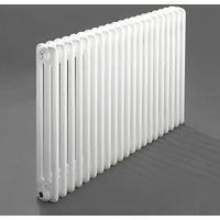 Windsor 3 Column Horizontal Radiator 300mm H x 992mm W - 21 Section - Heatwave