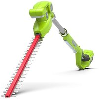 Hedge trimmer on 51 cm pole GREENWORKS 24V - Without battery or charger - G24PH51