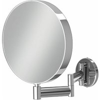 Helix Magnifying Bathroom Mirror - Round - HIB