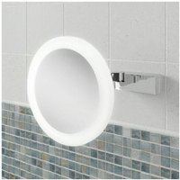 Libra Magnifying Bathroom Mirror 200mm Diameter - HIB