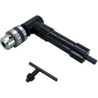 High Quality Cordless Right Angle Drill Adapter with 10mm Dia 8mm Hex Shank Keyed Chuck Power Tool Accessory