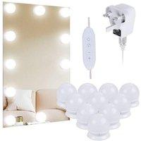 Thsinde - Hollywood mirror bulb led vanity mirror front light dressing table lighting beauty fill light 10led