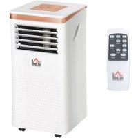 10000 BTU Portable Air Conditioner 4 Modes LED Display Timer Home Office - Homcom