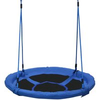 40 Round Children Kids Tree Swing Seat Nest for Outdoor w/ Hanging Kit - Homcom