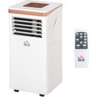 7000 BTU Portable Air Conditioner 4 Modes LED Display Timer Home Office - Homcom