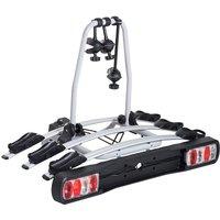 HOMCOM Bicycle Carrier Rear-mounted 3 Bike Carrier Car Rack Rear Tow Bar
