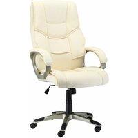 HOMCOM Luxury PU Leather Computer Office Desk Chair Luxury Swivel Executive