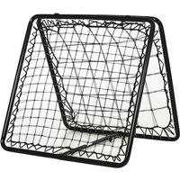 Metal Frame Angle Adjustable Rebounder Training Football Basketball Sports - Homcom