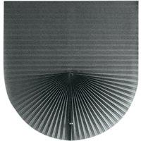 Home Cordless Pleated Light Filtering Fabric Shade Grey,35W x 59L,model:Grey 35W x 59L