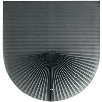 Home Cordless Pleated Light Filtering Fabric Shade Grey,35W x 70L,model:Grey 35W x 70L