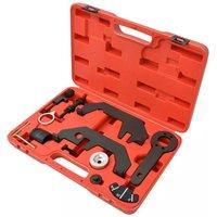 12 Piece Camshaft/Crankshaft Timing Tool Set V8 V12 N62 N73 VD07811 - Hommoo