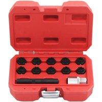 12 Piece Rim Lock Socket Set for Mercedes QAH07918 - Hommoo