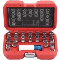 Hommoo 21 Piece Rim Lock Socket Set for BMW QAH07919