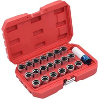 Hommoo 21 Piece Wheel Lock Tool Set for Audi VD07915