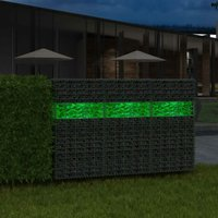 Hommoo 2D Garden Fence Panels 2008x1830 mm 12 m Green QAH16861