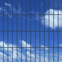 Hommoo 2D Garden Fence Panels 2008x830 mm 28 m Grey QAH16533