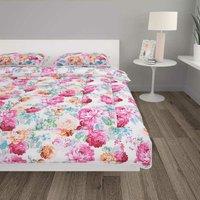 Hommoo 3 Piece Winter Duvet Set Fabric Printed 200x220/80x80 cm VD03163