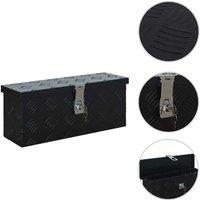 Aluminium Box 485x140x200 mm Black VD06233 - Hommoo