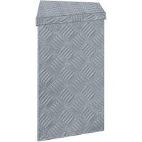 Aluminium Box 70x24x42 cm Trapezoid Silver QAH04956 - Hommoo