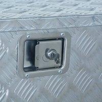 Aluminium Box 737/381x410x460 mm Silver QAH06232 - Hommoo