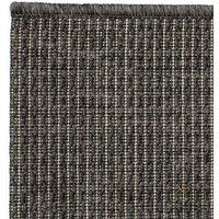 Area Rug Sisal Look Indoor/Outdoor 80x150 cm Dark Grey QAH02115 - Hommoo