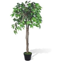 Artificial Plant Ficus Tree with Pot 110 cm VD08713 - Hommoo