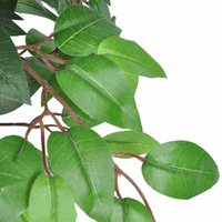 Artificial Plant Ficus Tree with Pot 110 cm QAH08713 - Hommoo