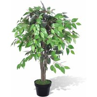 Artificial Plant Ficus Tree with Pot 90 cm VD08712 - Hommoo