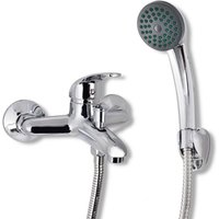 Hommoo Bath Shower Mixer Tap Kit Chrome VD03728