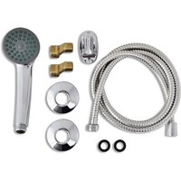 Bath Shower Mixer Tap Kit Chrome QAH03727 - Hommoo