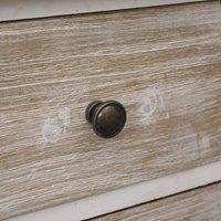 Bedside Cabinets 2 pcs 35x30x50 cm Paulownia Wood QAH24606 - Hommoo