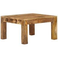Hommoo Coffee Table 60x60x35 cm Solid Mango Wood VD12625