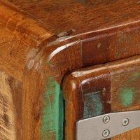 Hommoo Coffee Table 85x55x40 cm Solid Reclaimed Wood QAH13369