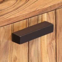Hommoo Coffee Table 90x50x45 cm Solid Acacia Wood QAH13364