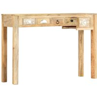 Console Table 110x30x75 cm Solid Mango Wood VD13597 - Hommoo
