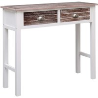 Hommoo Console Table Brown 90x30x77 cm Wood VD24685